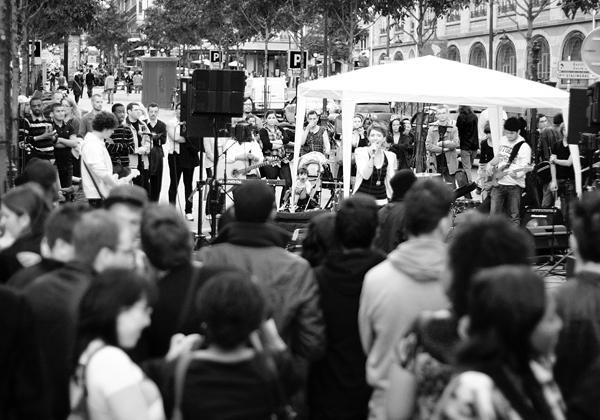 La Fête de la Musique, Clichy, Paris, France, June 21 2011